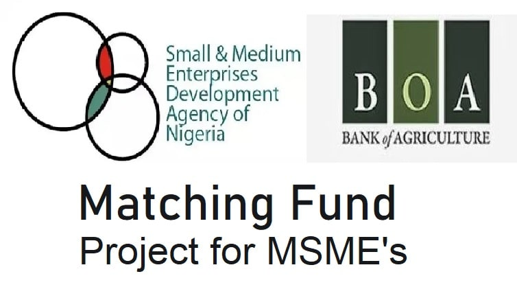 SMEDAN-BOA Collaborate to provide Matching Fund for MSEs