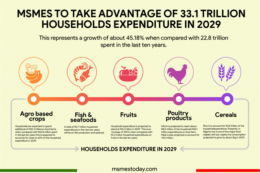 Households Expenditure In 2029